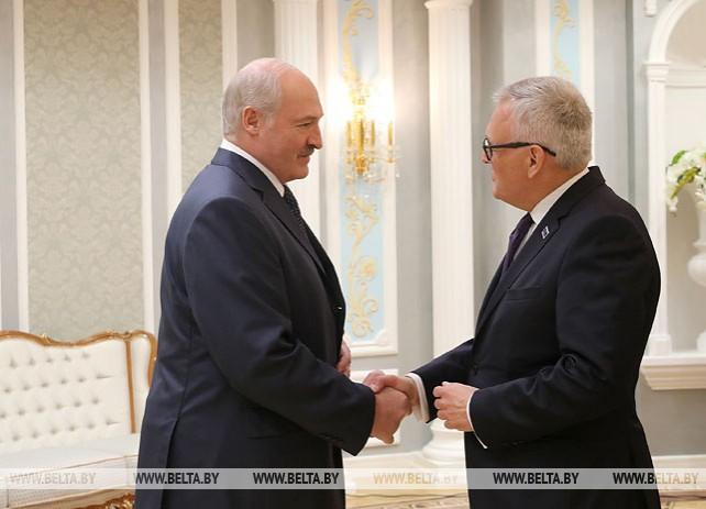 Лукашенко встретился с председателем Конгресса местных и региональных властей Совета Европы
