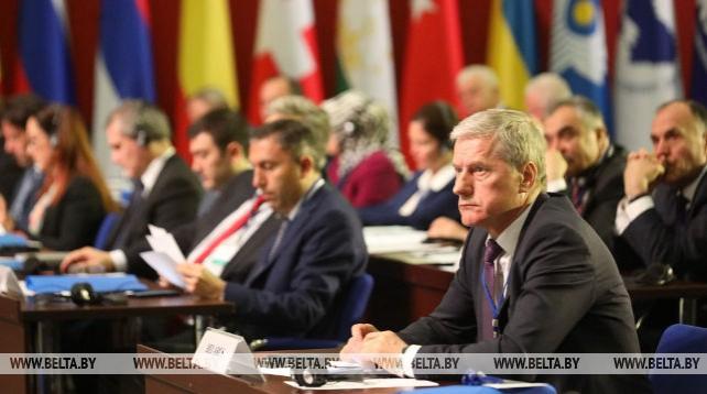 Конференция Группы поддержки Шелкового пути ПА ОБСЕ проходит в Минске