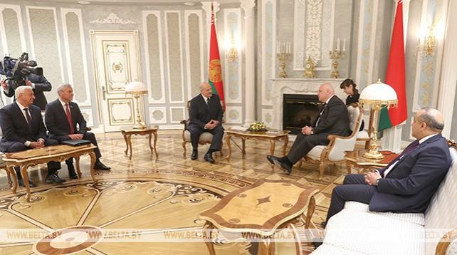 Лукашенко встретился с председателем Парламентской ассамблеи ОБСЕ
