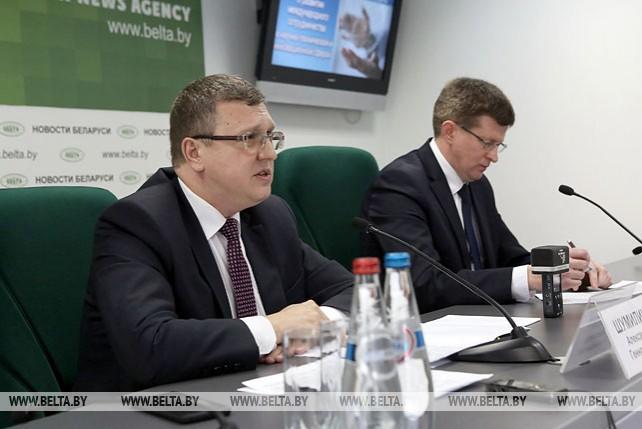 Пресс-конференция председателя ГКНТ прошла в БЕЛТА