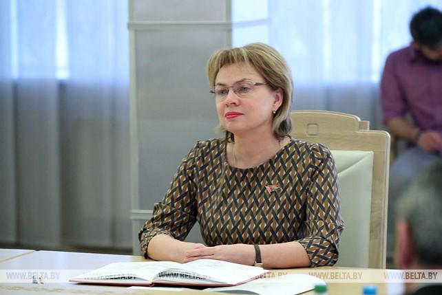 Щеткина встретилась с заместителем председателя Сената Италии
