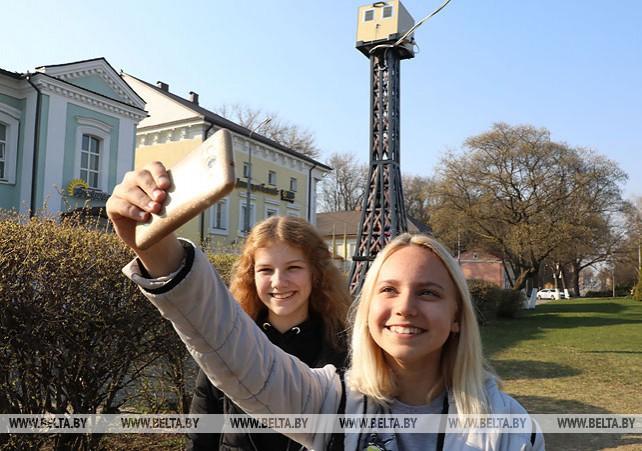 Аналог Эйфелевой башни установлен в Полоцке