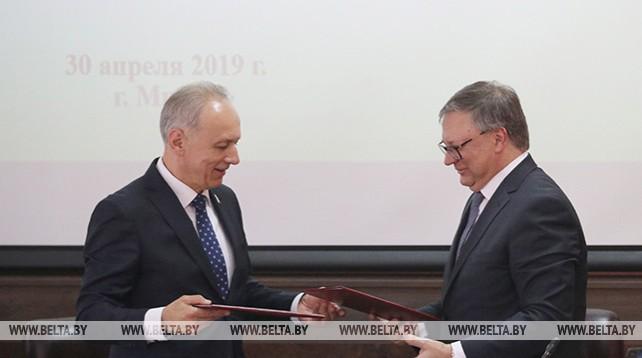 Белорусская республиканская коллегия адвокатов и Республиканский союз участников таможенных отношений подписали соглашение о сотрудничестве