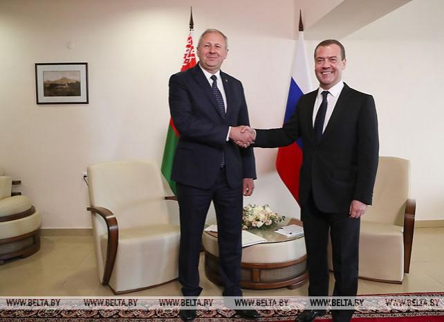 Румас встретился с Медведевым