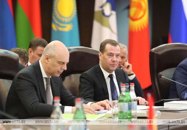 Заседание Евразийского межправительственного совета в Ереване