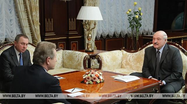 Лукашенко встретился с экс-президентом Литвы