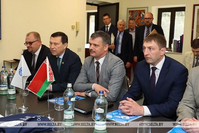 Ковальчук встретился с президентом ЕОК