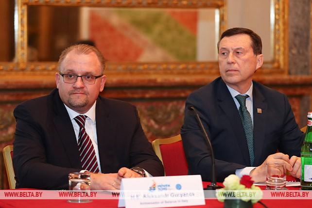 Посвященная II Европейским играм пресс-конференция прошла в Риме