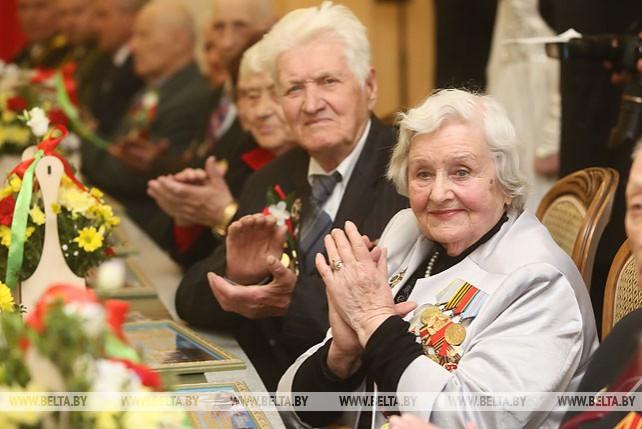 Прием ветеранов состоялся в Гродненском облисполкоме
