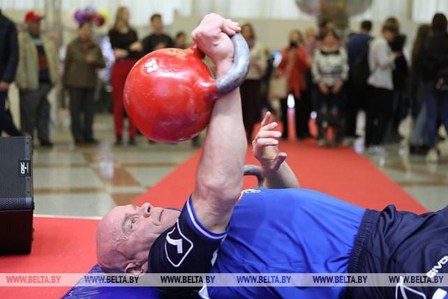 Хоронеко установил 160-й рекорд в карьере и посвятил это достижение 75-летию освобождения Беларуси