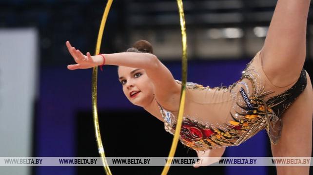 Тестовые состязания к II Европейским играм по художественной гимнастике проходят в Минске