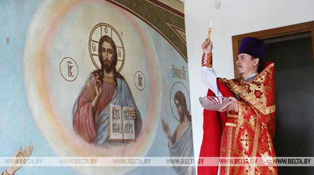 В Гродно освятили архиерейское подворье
