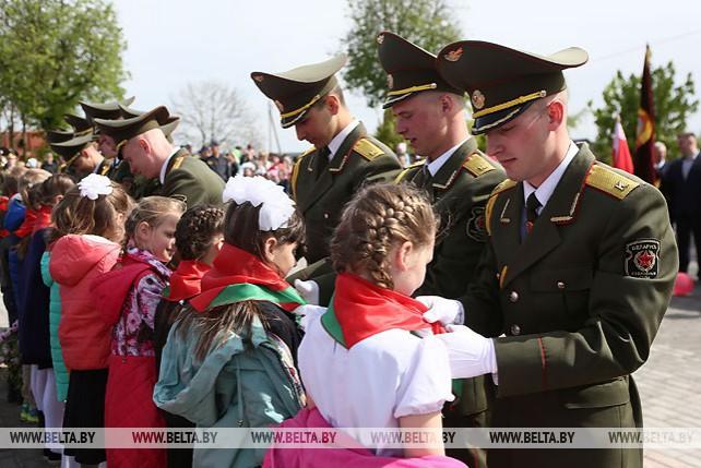 В агрогородке Вертелишки прошел митинг-реквием, посвященный Дню Победы