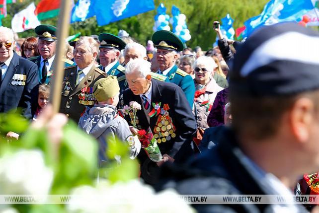 Праздничные мероприятия ко Дню Победы проходят в Бресте