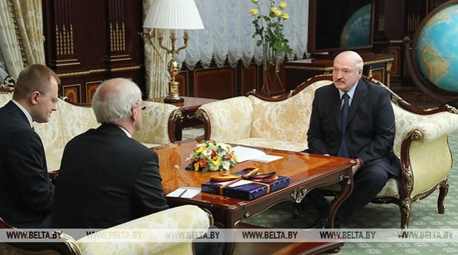 Лукашенко встретился с Чрезвычайным и Полномочным Послом Германии в Беларуси