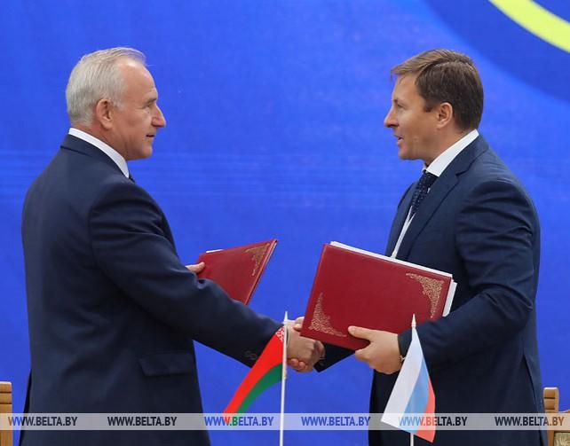 Соглашения о сотрудничестве подписаны на экономическом форуме в Витебске