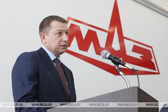 Коллективу МАЗа представили нового руководителя