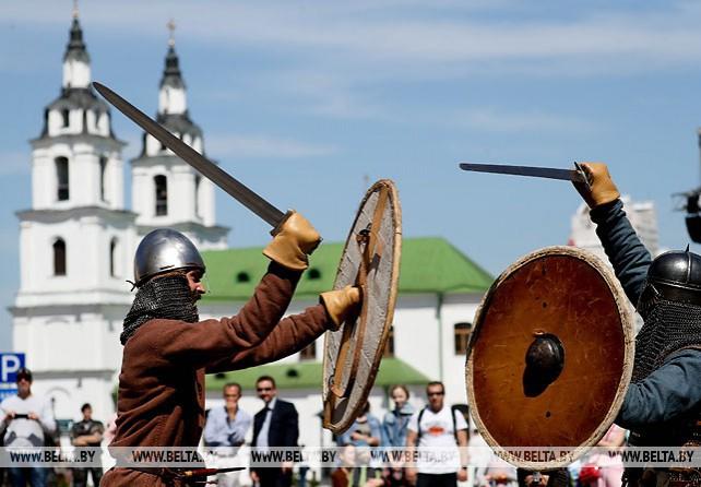 Сезон исторических реконструкций открылся в Верхнем городе