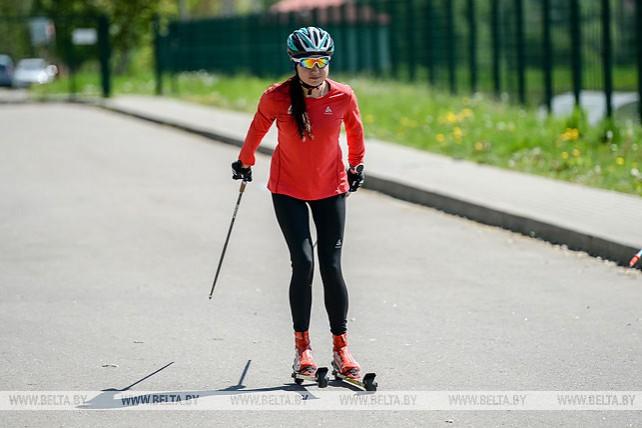 Сборная Беларуси по биатлону начала подготовку к новому сезону