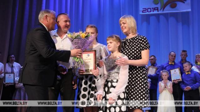 В Витебской области выбрали лучшую многодетную семью года