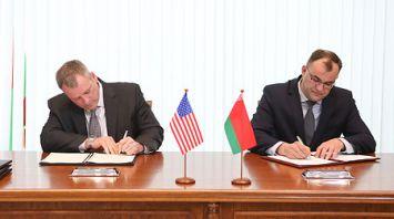 Четыре белорусско-американских документа по расширению борьбы с наркотиками подписаны в Минске