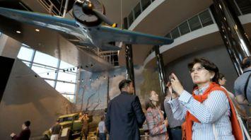 Участники Белорусского международного медиафорума посетили музей ВОВ