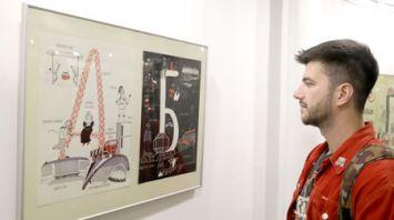 Витебская художница представила красочный белорусский алфавит