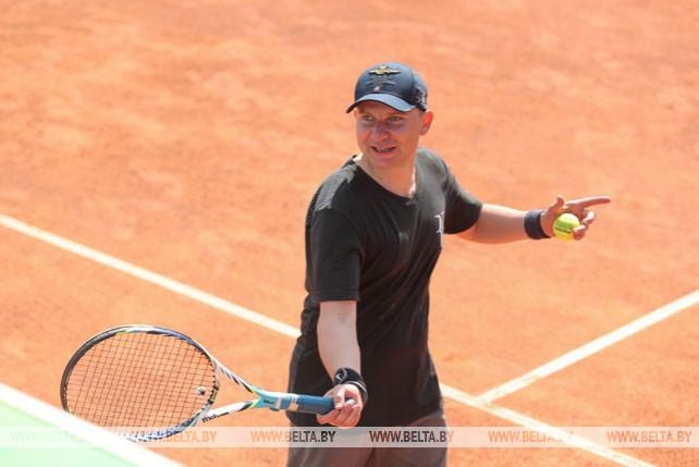 Четвертый дипломатический турнир по теннису прошел в Минске