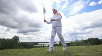 Эстафету огня II Европейских игр пронесли по самому синеокому уголку Беларуси