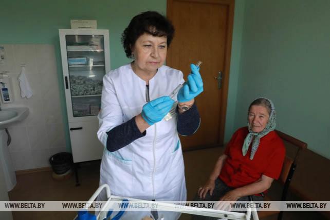 Полошковский ФАП обслуживает 5 населенных пунктов Климовичского района