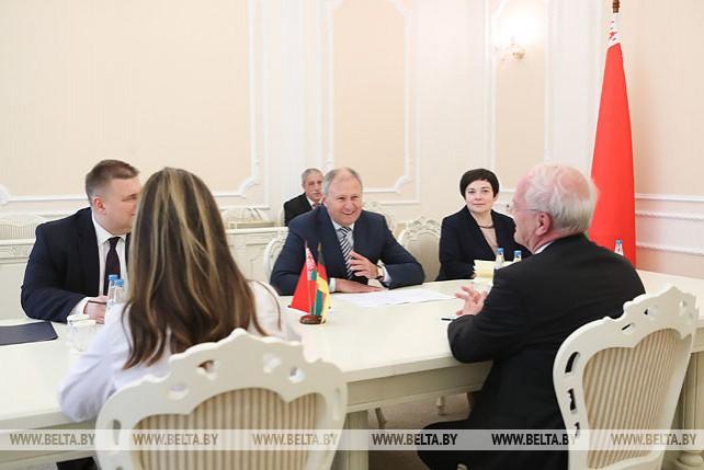 Румас встретился с послом Германии