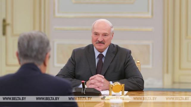 Лукашенко встретился с Президентом Казахстана