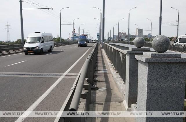 Около 15 тыс. автомобилей ежесуточно проходят по мосту через Сож в Гомеле