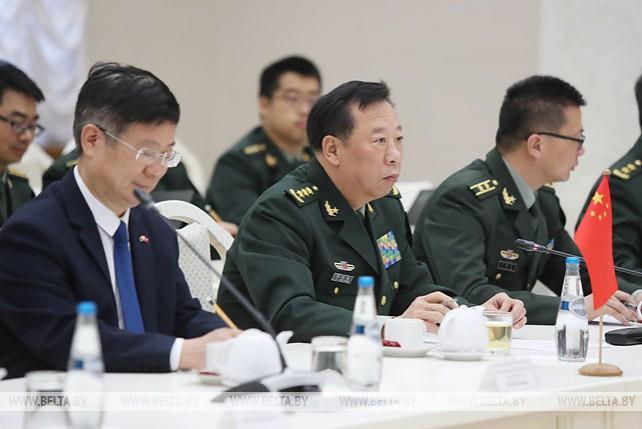 Начальник Объединенного штаба Центрального военсовета Китая посещает с официальным визитом Беларусь