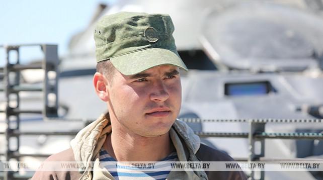 Войска Минского гарнизона готовятся к параду