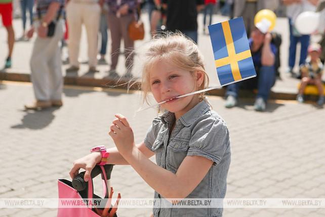 День Швеции прошел в Верхнем городе в Минске