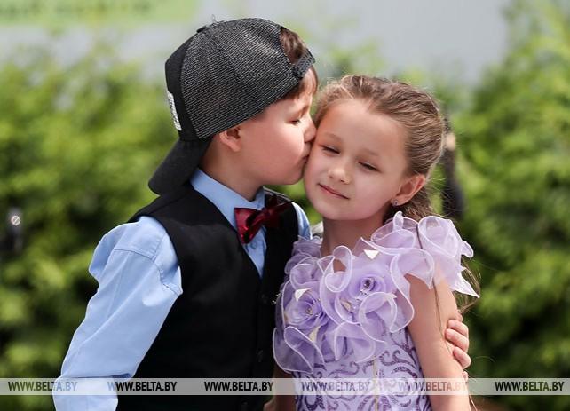 В Минске отметили День защиты детей
