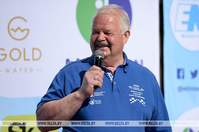 Победителей этапа Брест-Минск международного ралли на электромобилях наградили в НОК