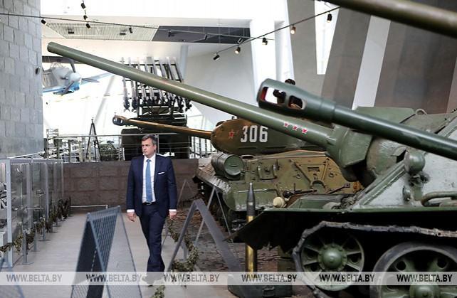 Словацкие парламентарии посетили музей истории Великой Отечественной войны