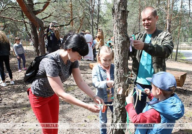 """Новый туристический маршрут для детей открыт в национальном парке """"Припятский"""""""