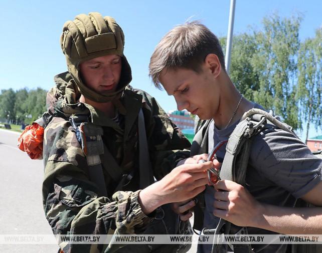 Военно-полевые сборы для старшеклассников стартовали в Витебске