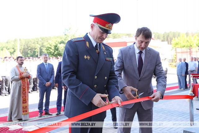 Открылось новое здание УВД администрации Партизанского района Минска