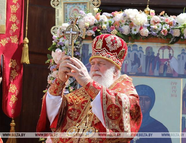 В Полоцке отметили День памяти святой Евфросинии