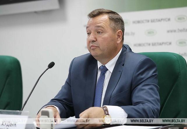 Пресс-конференция с участием министра природных ресурсов и охраны окружающей среды прошла в пресс-центре БЕЛТА