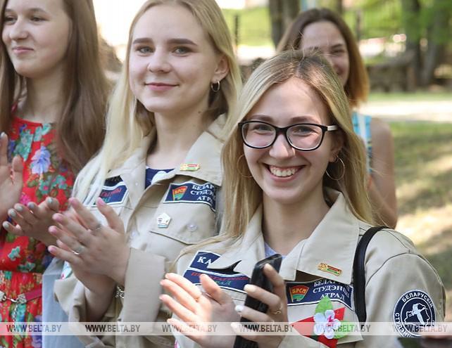 Студотрядовцы Витебской области открыли третий трудовой семестр