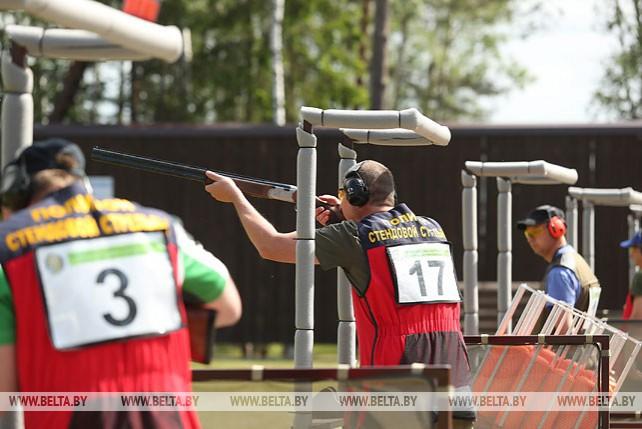 Представители силовых ведомств принимают участие в турнире по компакт-спортингу под Минском