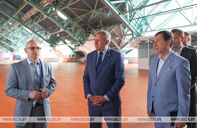 Румас посетил международный вещательный центр II Европейских игр