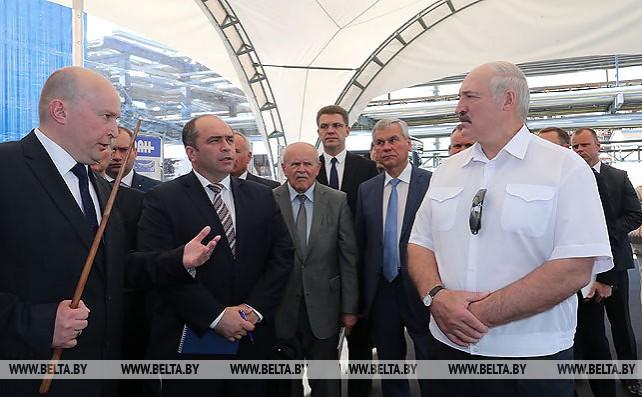 "Лукашенко посетил ОАО ""Нафтан"""