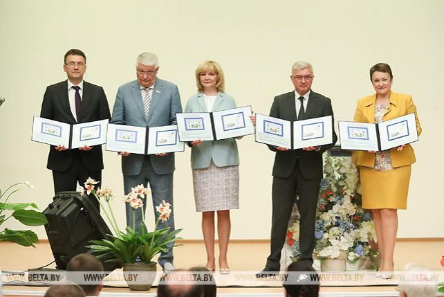 Гашение марки к 100-летию системы здравоохранения и 60-летию РНПЦ онкологии состоялось в Минске