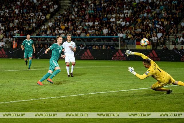 Футболисты Беларуси проиграли команде Германии в квалификации Евро-2020